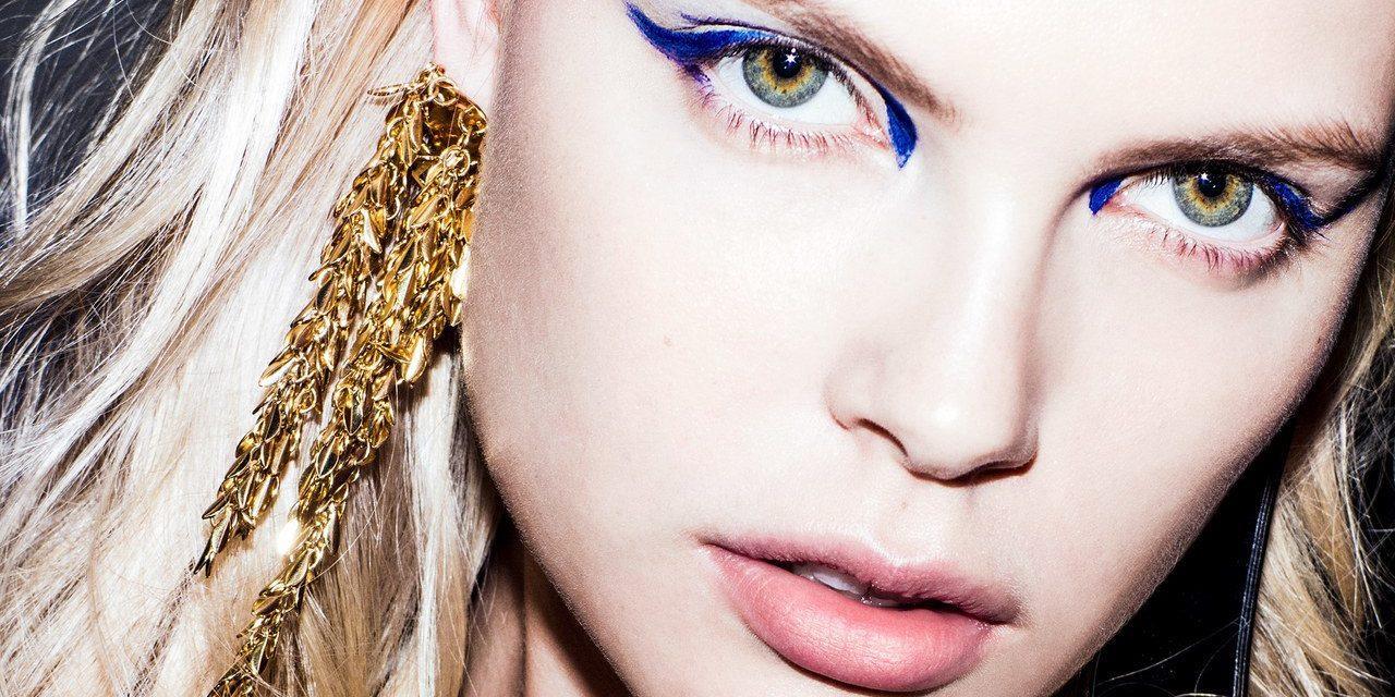 آرایش آبی چشمها