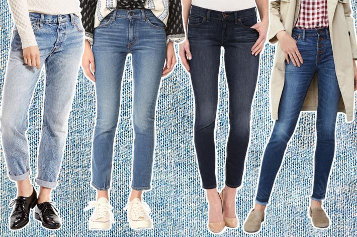 روش های ست کردن انواع شلوار جین