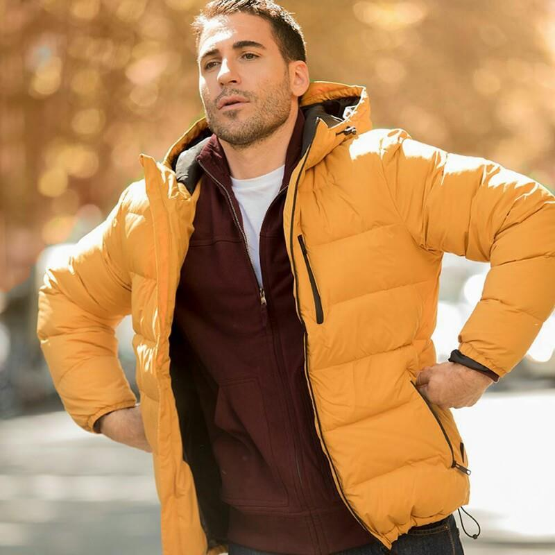 Let's go and enjoy. Down coats for #ACommonLife with @miguelangelsilvestre. Check his favourite pieces 👆👆in our bio.