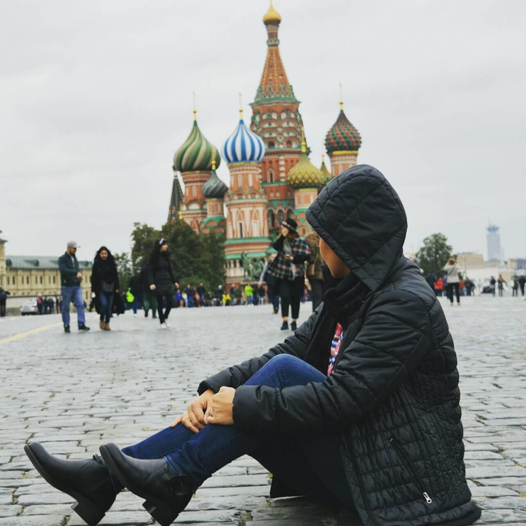 مسکو-میدان سرخ🌎 چرم کاکتوس🌹