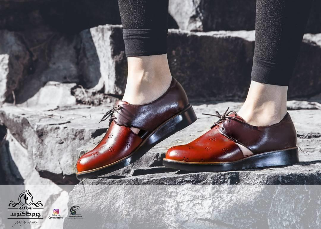 کفش چرم کد ۱۰۷ قیمت: ۱۴۵.۰۰۰ ت