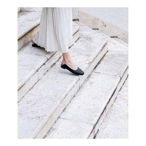 Calida our new flat mules are