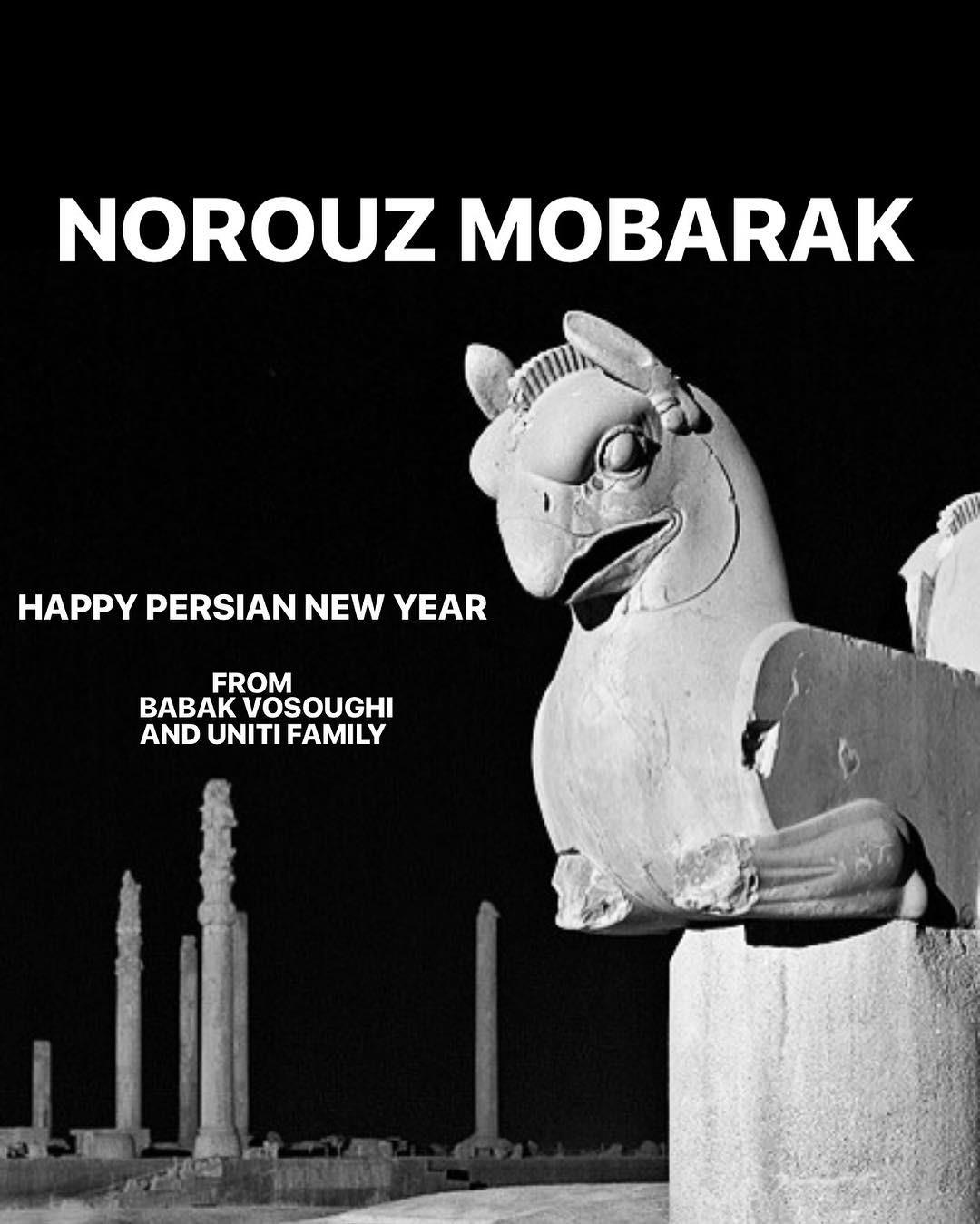 Happy Persian New Year #babakv