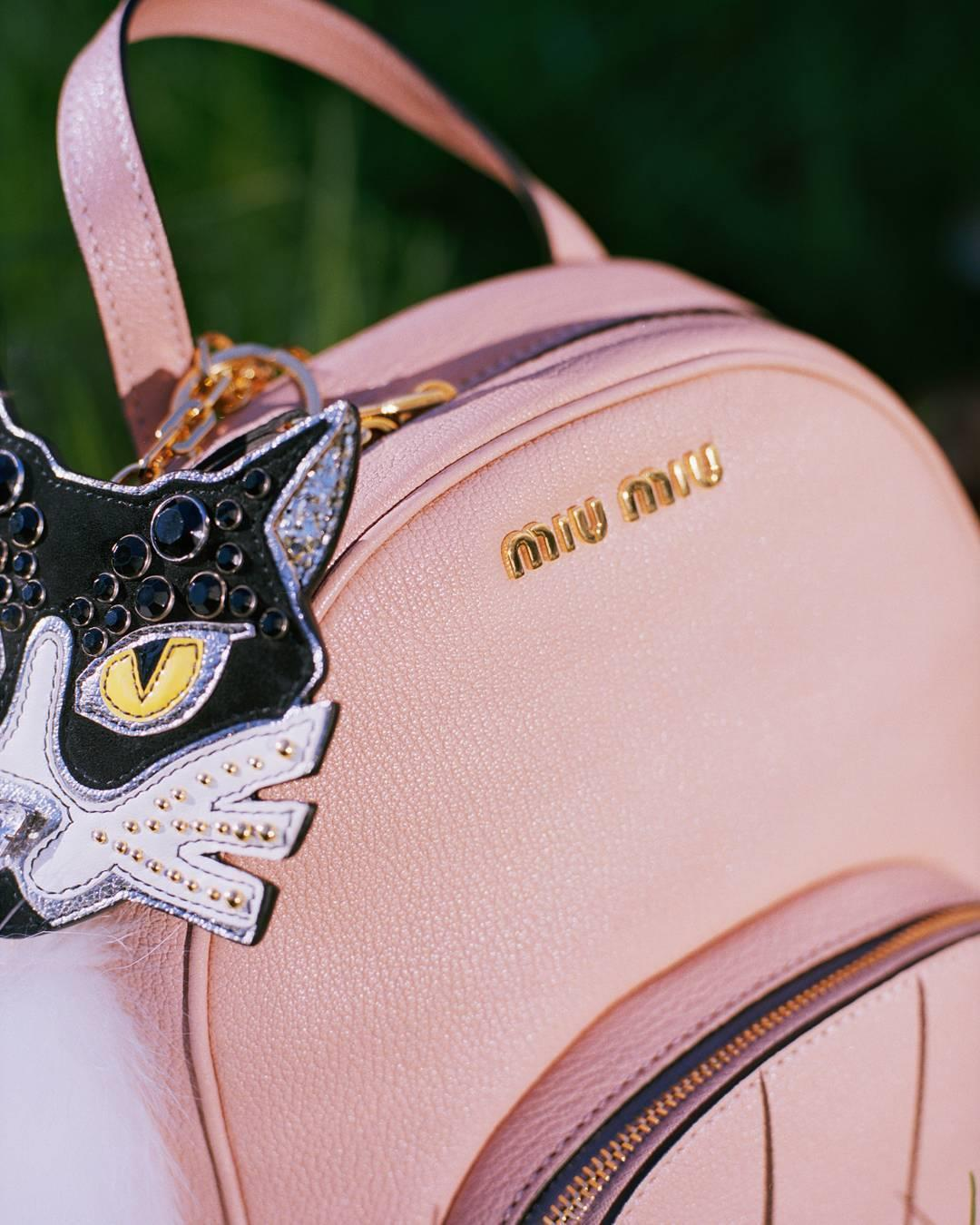Miu Miu accessories, up close
