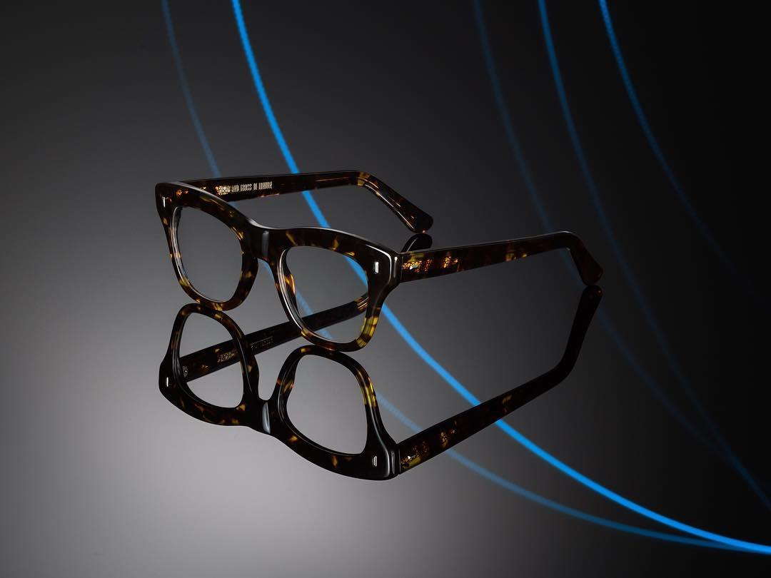 Oversized opticals. The new amber turtle frame 1239. Cutler  ...