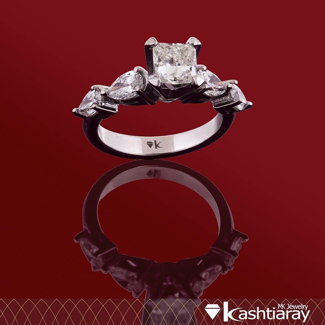Ring Princess diamond: 1.00ct