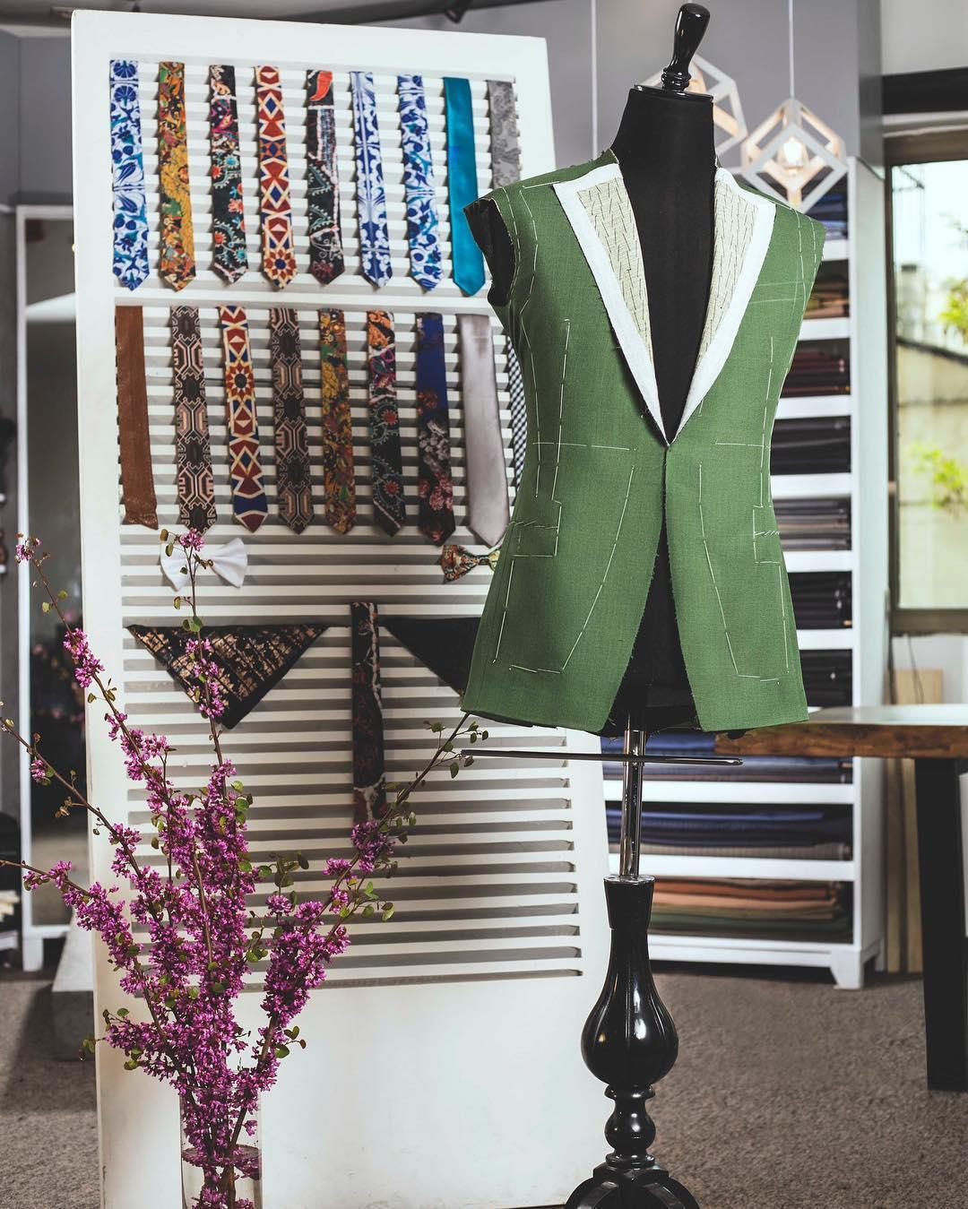 تصویری از کالکشن کراوات های به