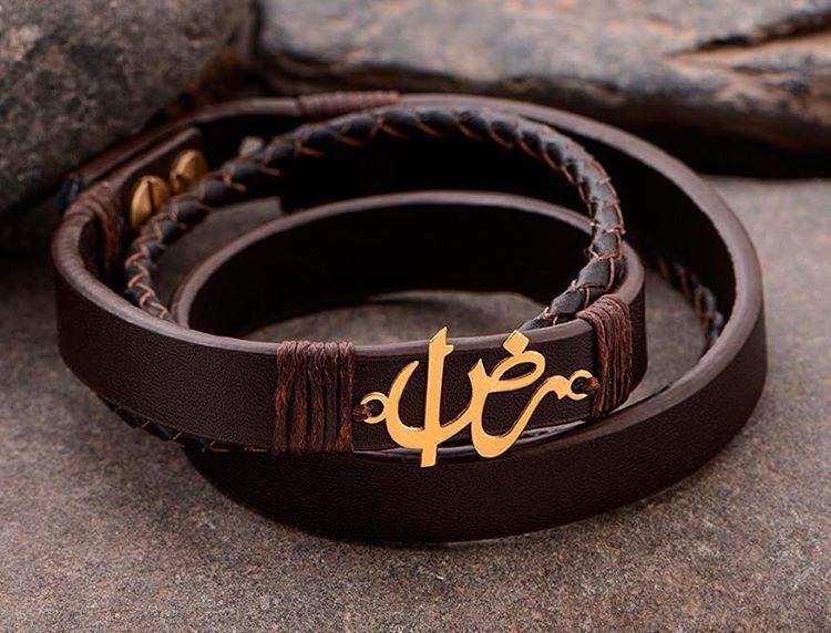 🕴Men Natural leather bracele