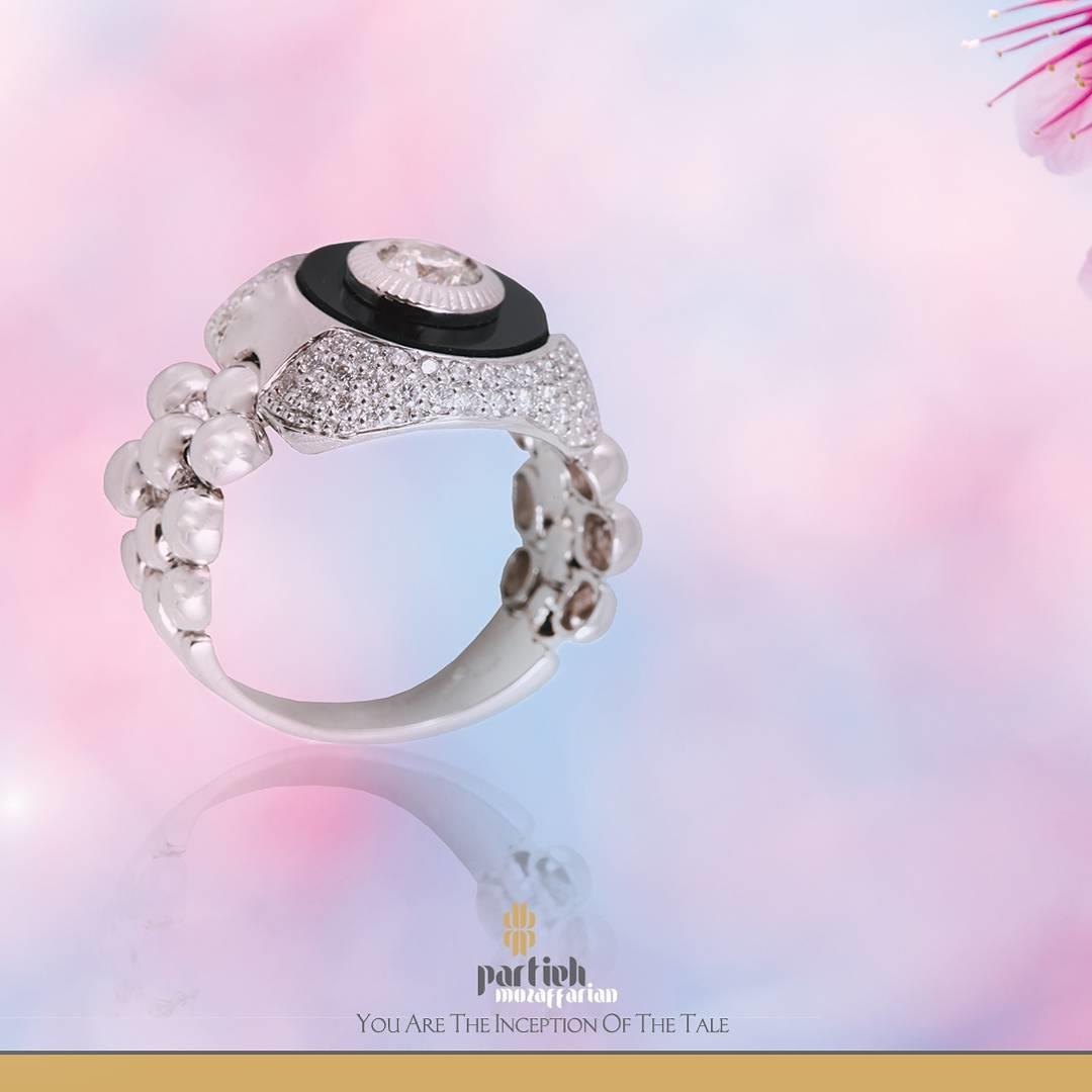Gold Diamond #Ring 18k Gold 1