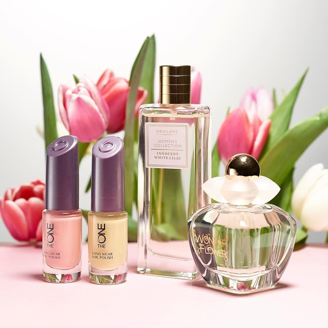 Spring is in the air! 🌷 🌷 🌷 #Oriflame #Fragrance #Manicure #Spring