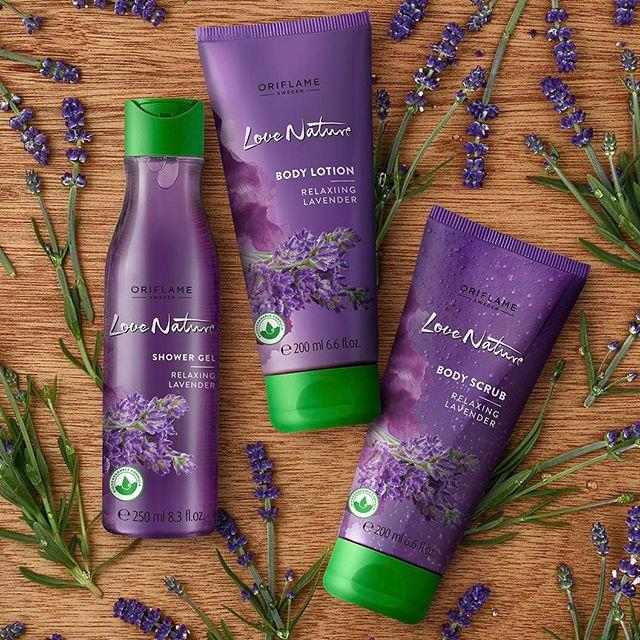 Sooth your senses with Love Nature Relaxing Lavender #Oriflame #❤️nature