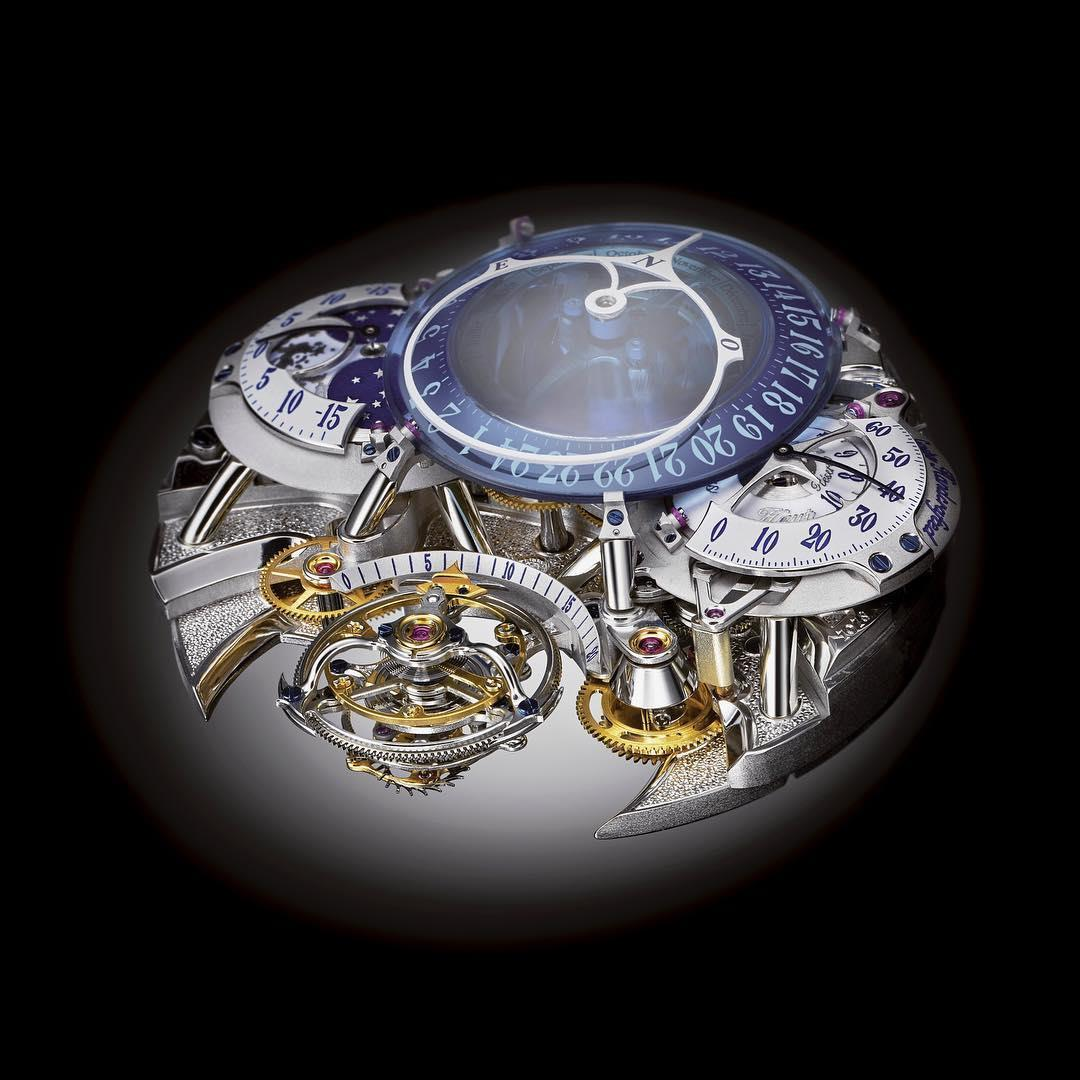 Récital 20 Asterium – finishings under a microscope 