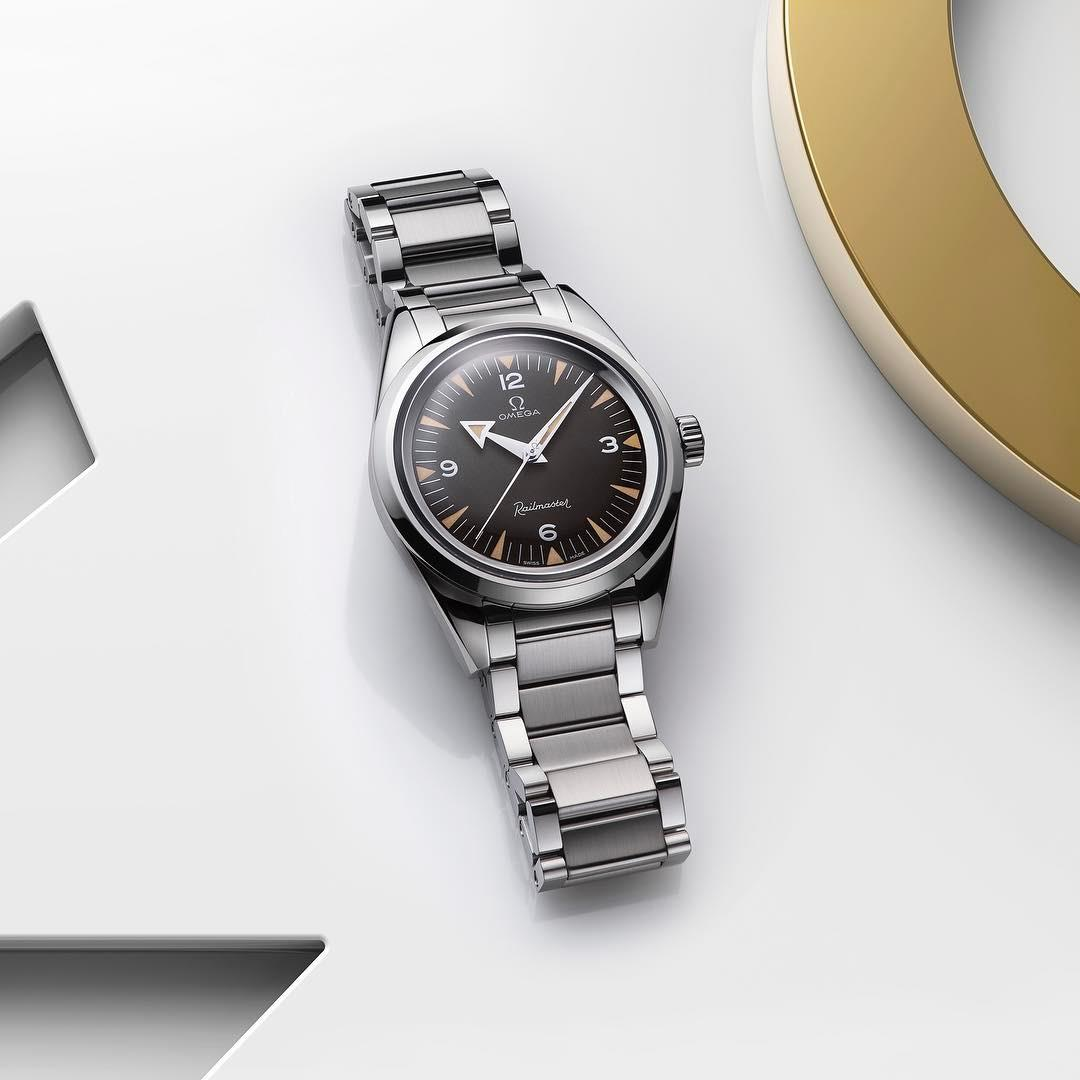 Right on time! The new OMEGA Railmaster 60th Anniversary Lim ...