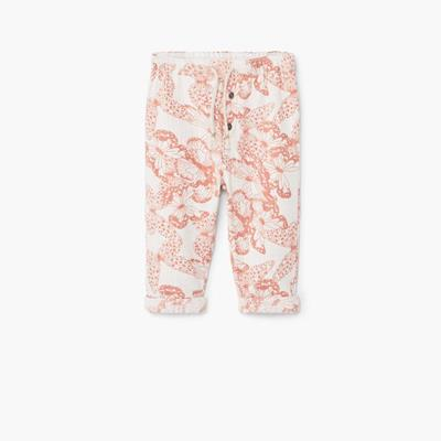 Printed cotton trousers Cotto