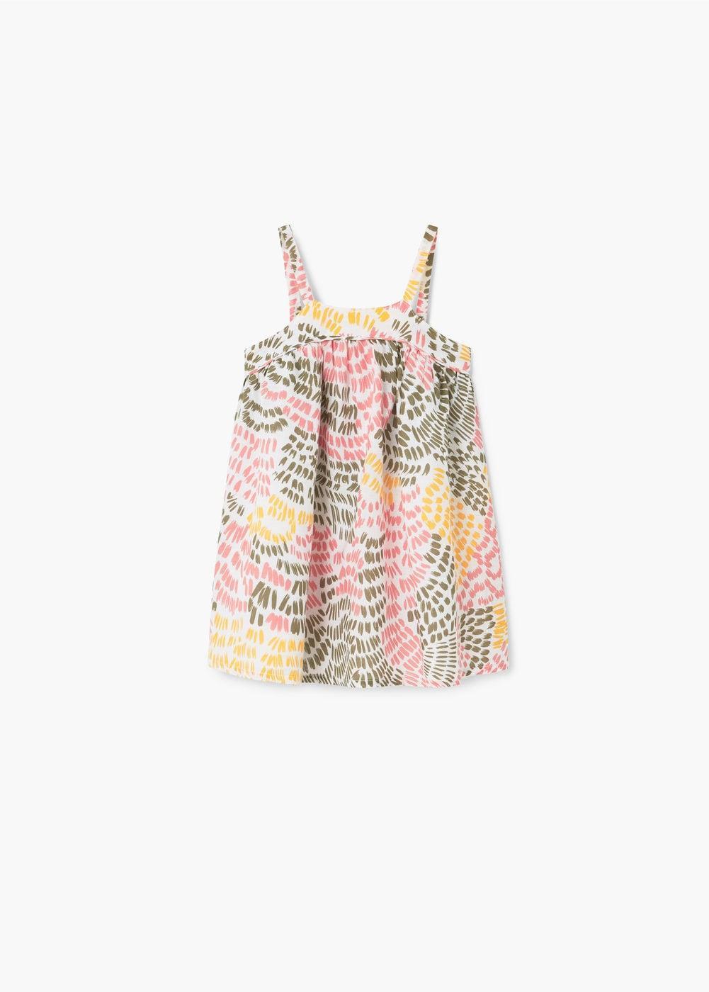 Printed cotton dress Cotton f