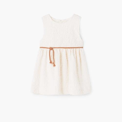Cord textured dress