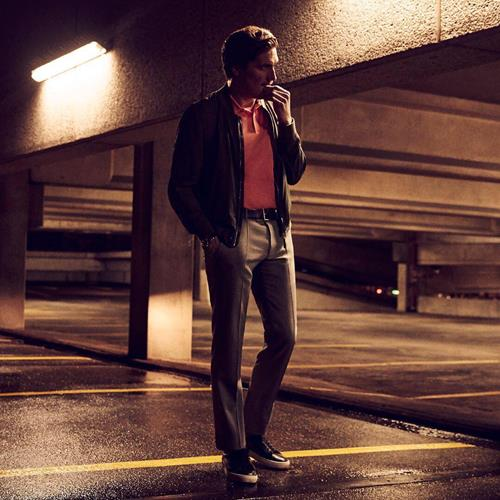 On his way: the modern man on