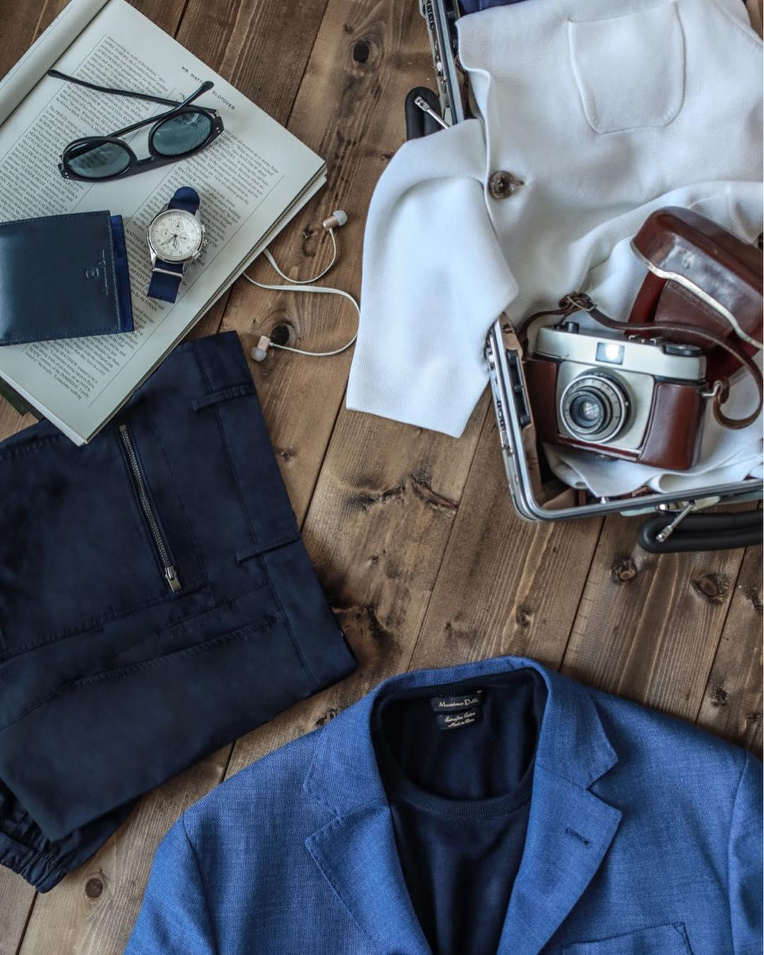 The essential pieces to pack t