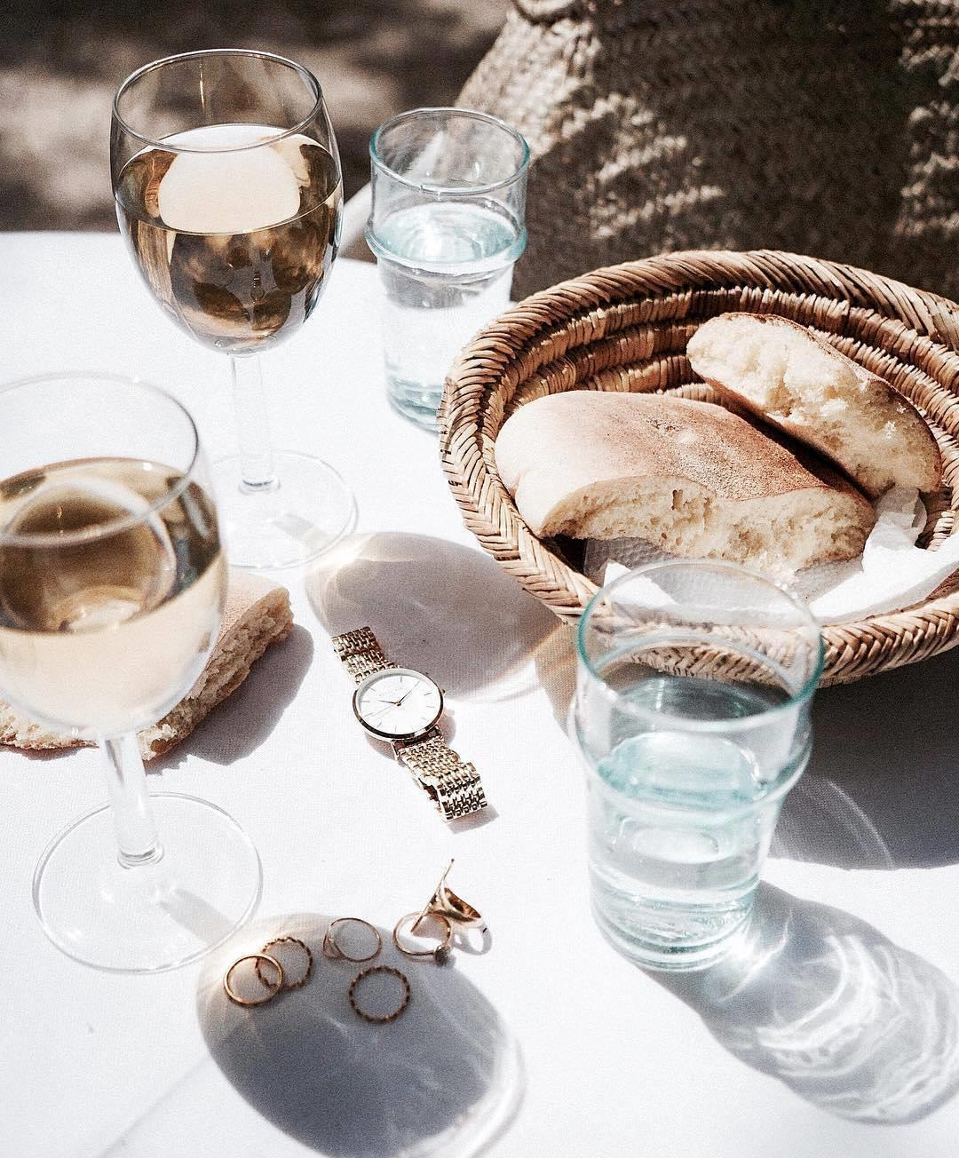 Wine, friends and sunshine - now that's how we're going to s ...