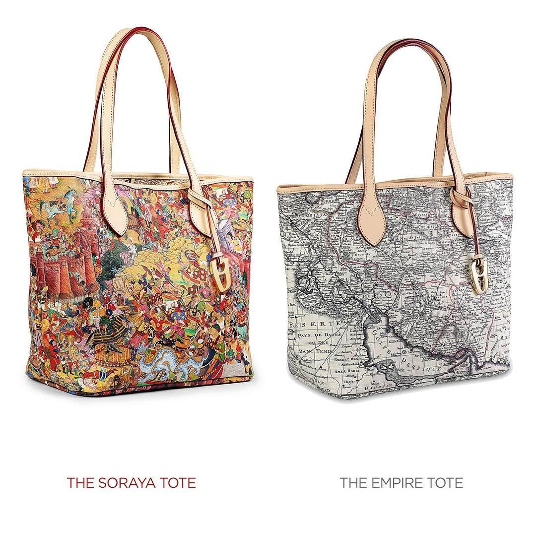 The Soraya Tote or The Empire