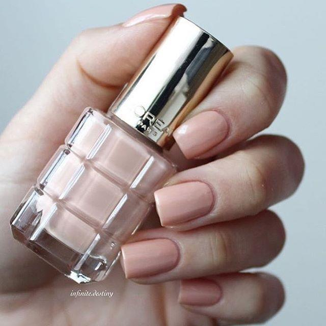 ✨Want the perfect Nude shade for your #nails? ✨Try on our Color Riche Vernis a l'Huile in