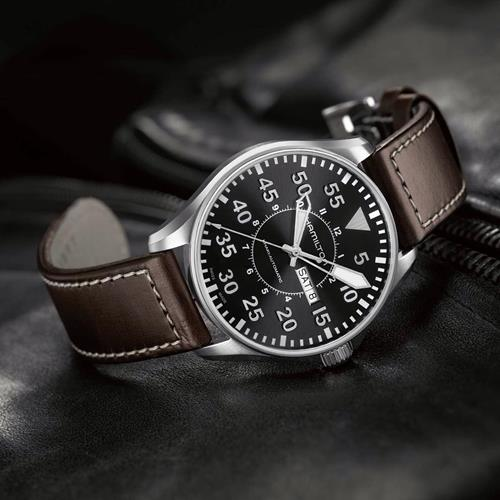 The Khaki Pilot with its class