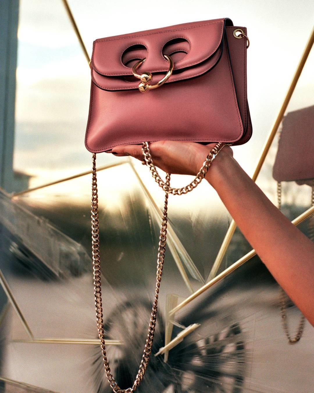 DUSTY ROSE MINI PIERCE BAG
