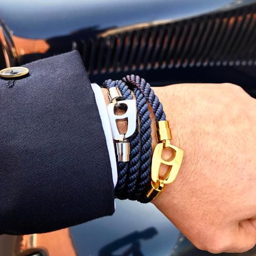 دستبند مردانه نیمانی New Coll
