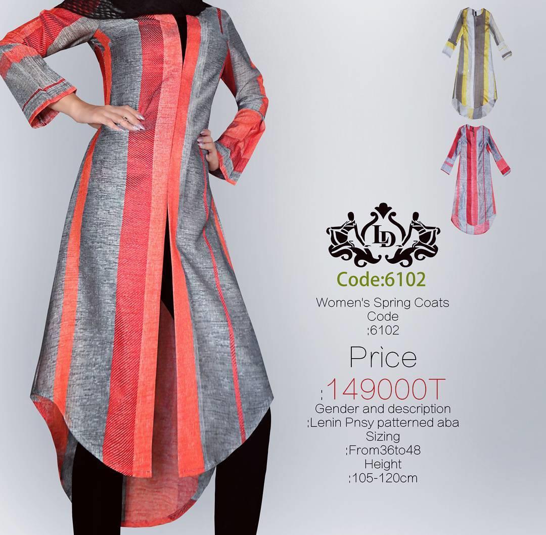#مانتو کد:۶۱۰۲ قیمت در تمام