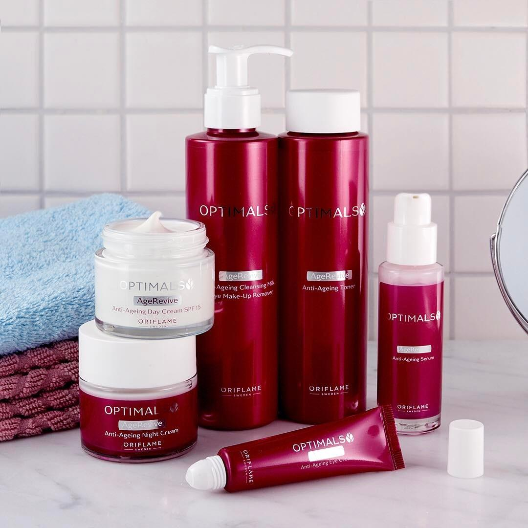 Try the new Optimals Age Revive Set -it's proven to target multiple signs of ageing for radiant, younger-looking skin!