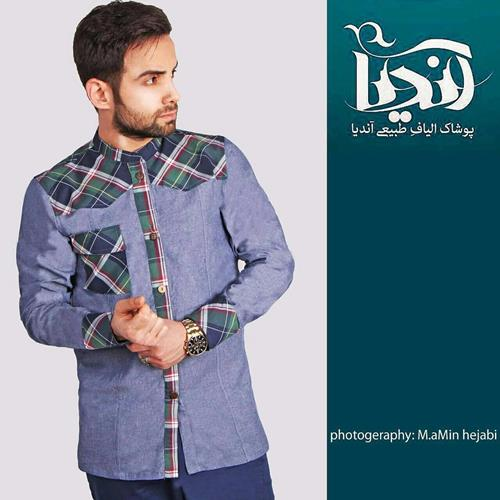 ایرانی بپوشیم  پیراهن سبلان