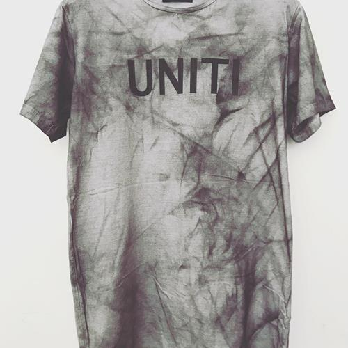NEW Distressed waxed t-shirt n