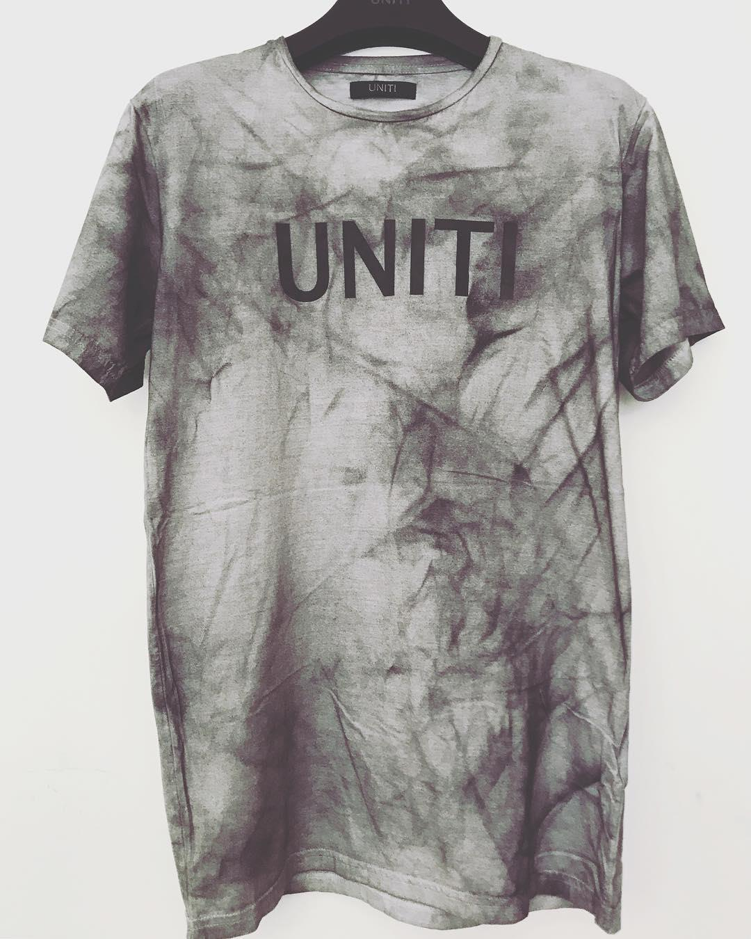 NEW Distressed waxed t-shirt now in store ⚫️ #babakvosoughi #unitibv #tehran #iran #losangeles #london #dubai