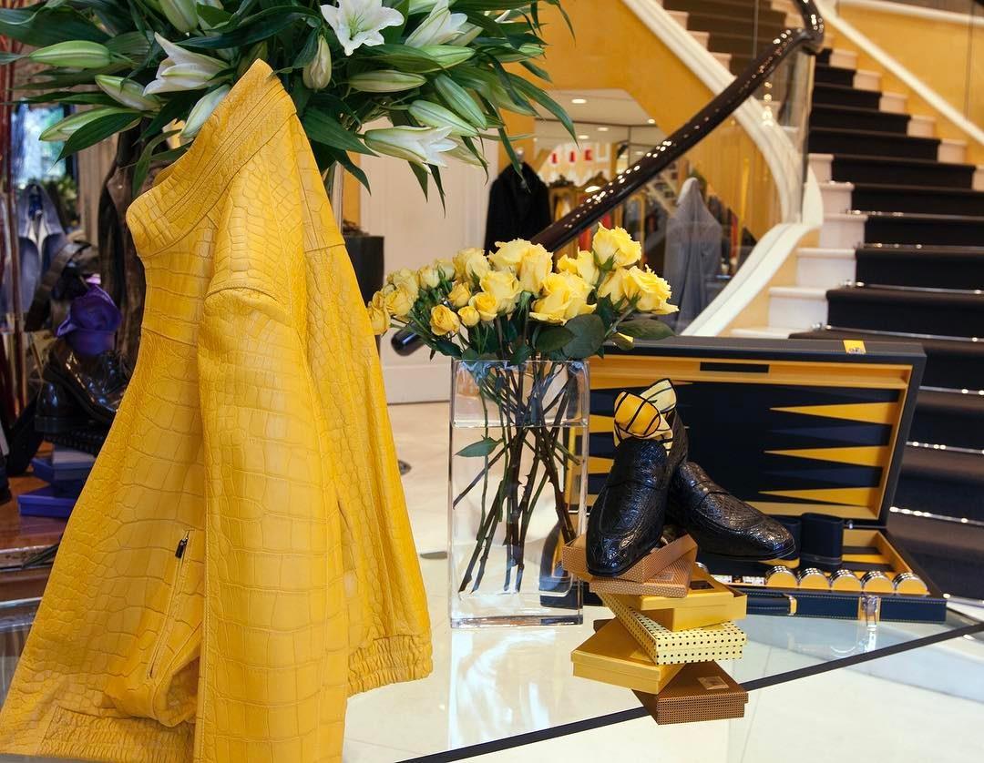Bijan Yellow! #HouseofBijan #B