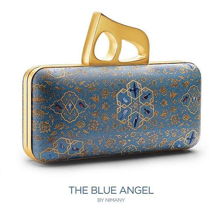 The Blue Angel Clutch by NIMANY