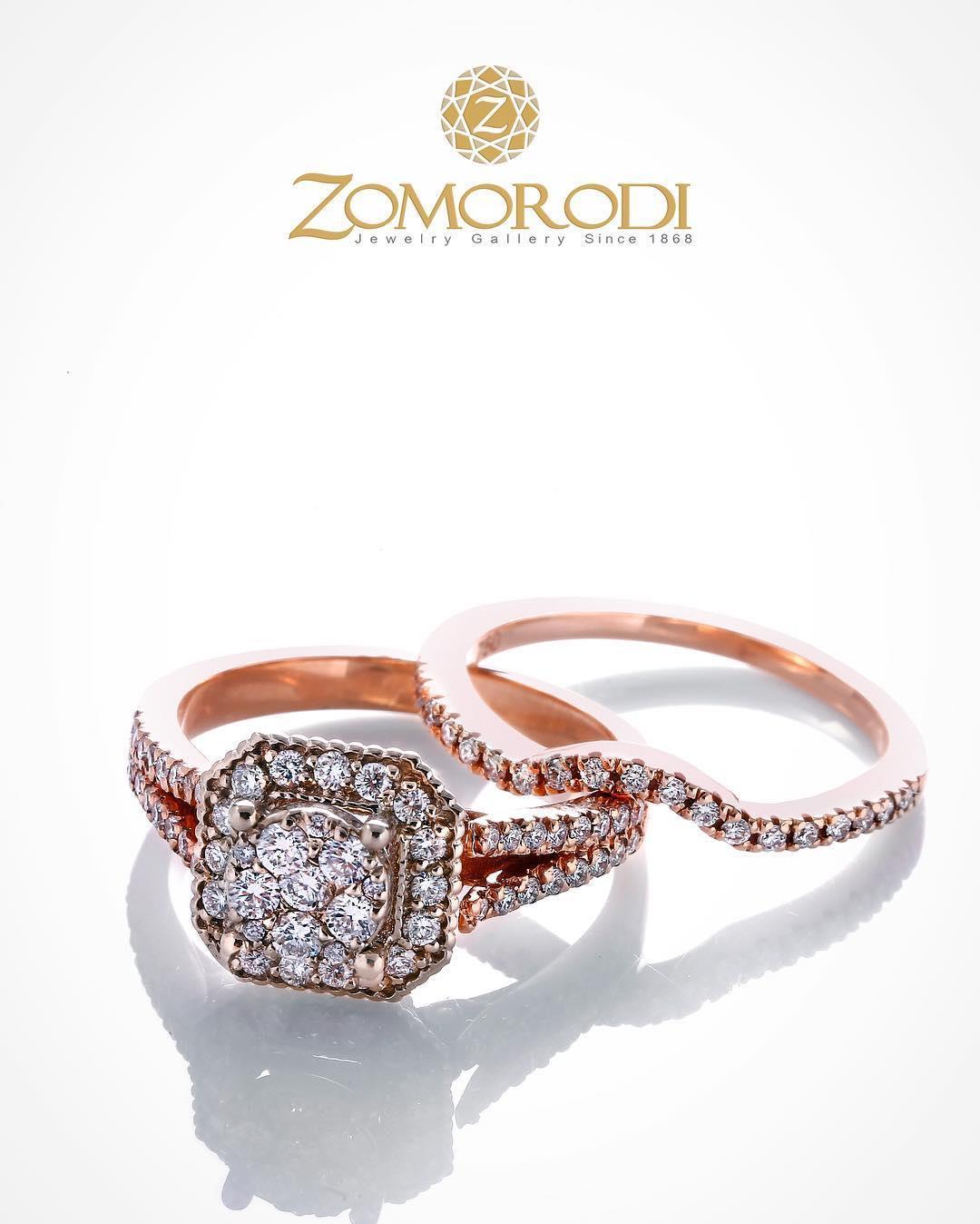 #rosegold #diamond #wedding #r