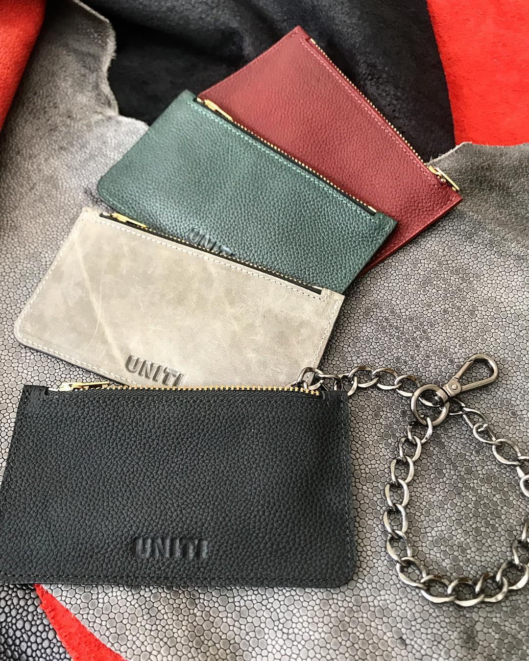 Leather wallet available now🏴