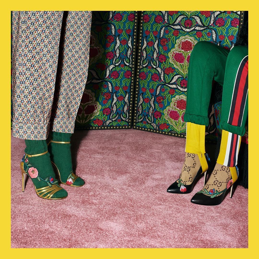 sandals and pumps embellished