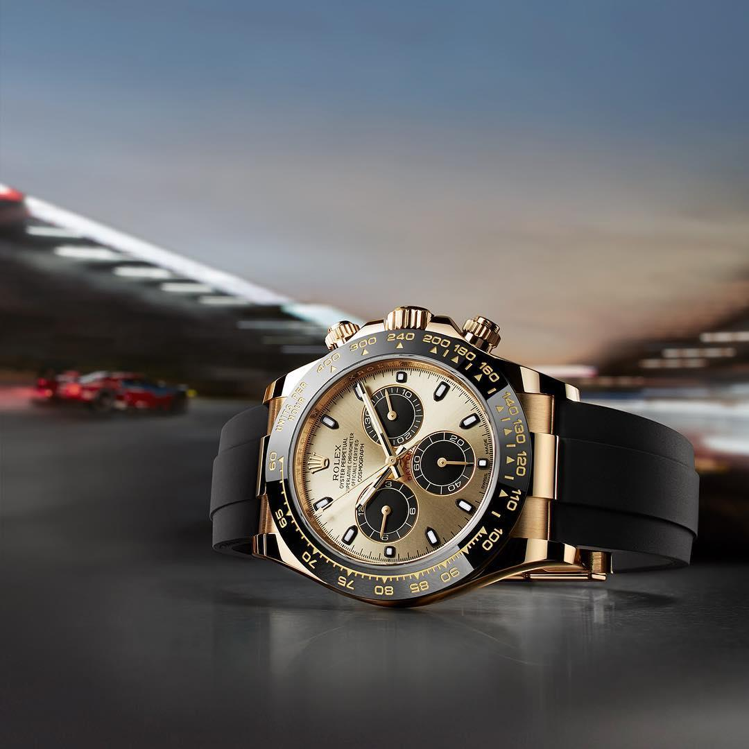 The Rolex Cosmograph Daytona - a motor sport legend.