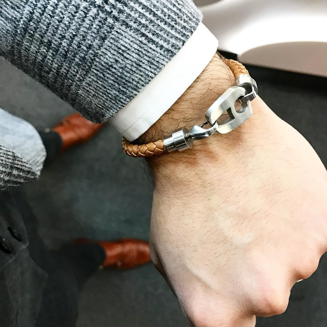 The new leather bracelets by N
