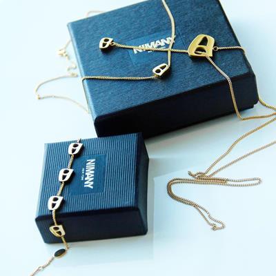 NIMANY Necklace & Bracelet. #n
