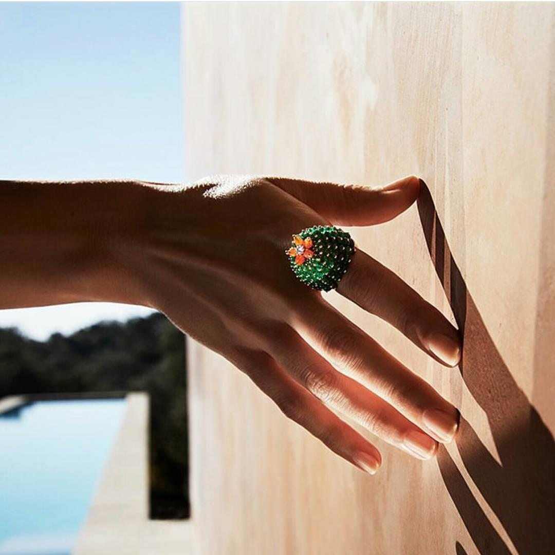 A ring that gets noticed.  #C