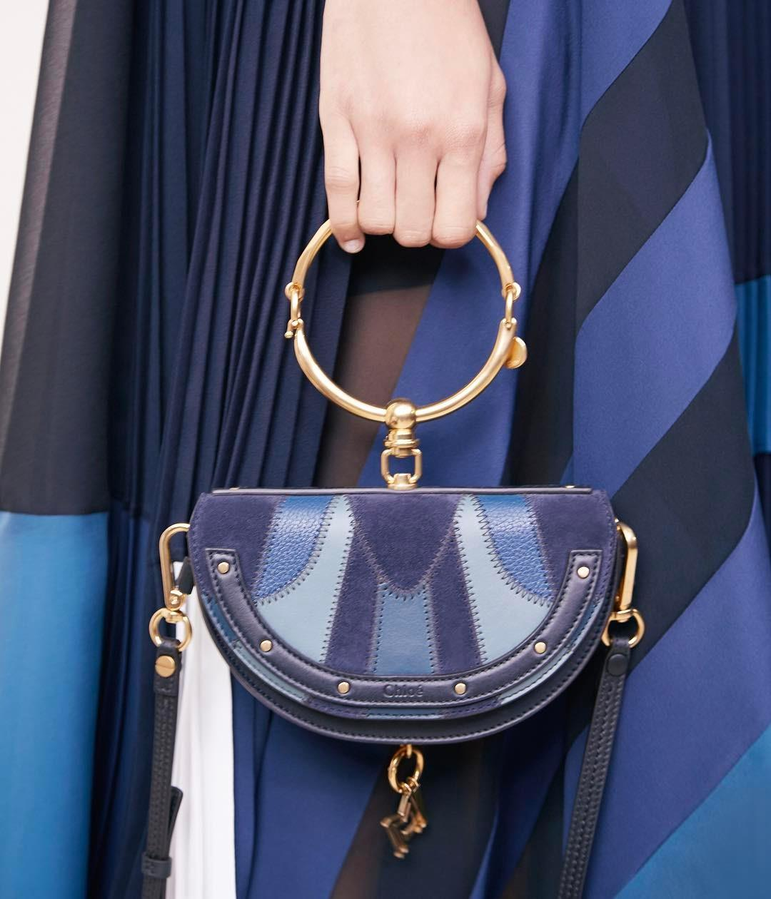 Shades of blue – the new Nile bag is this season's statement ...