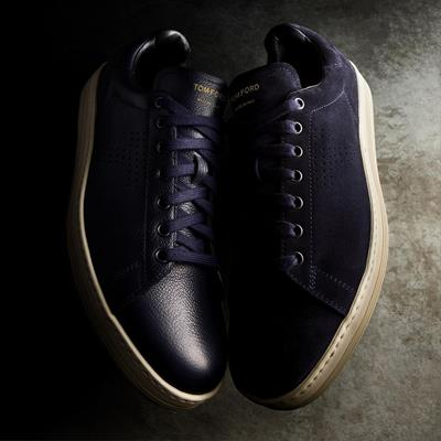 The Warwick Sneaker in leather