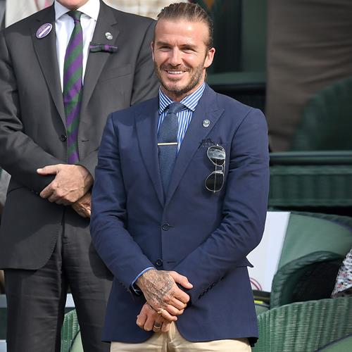 DavidBeckham wears #Polo at #W