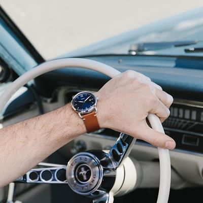 Cruising in style.