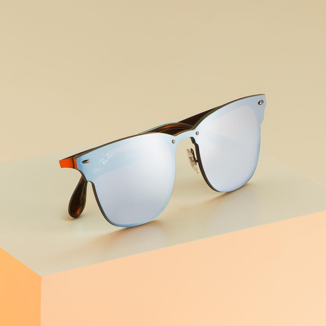 raybanAn icon gets an ultra-modern makeover // Clubmaster, meet the #BlazeCollection