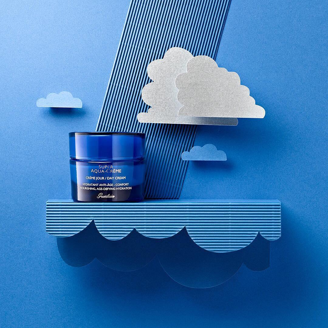 Rainy day? Hydrate your skin as well with Super Aqua-Crème t ...
