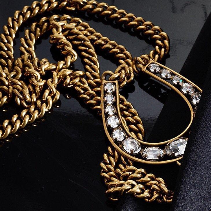 The Double-Chain Pendant Neckl
