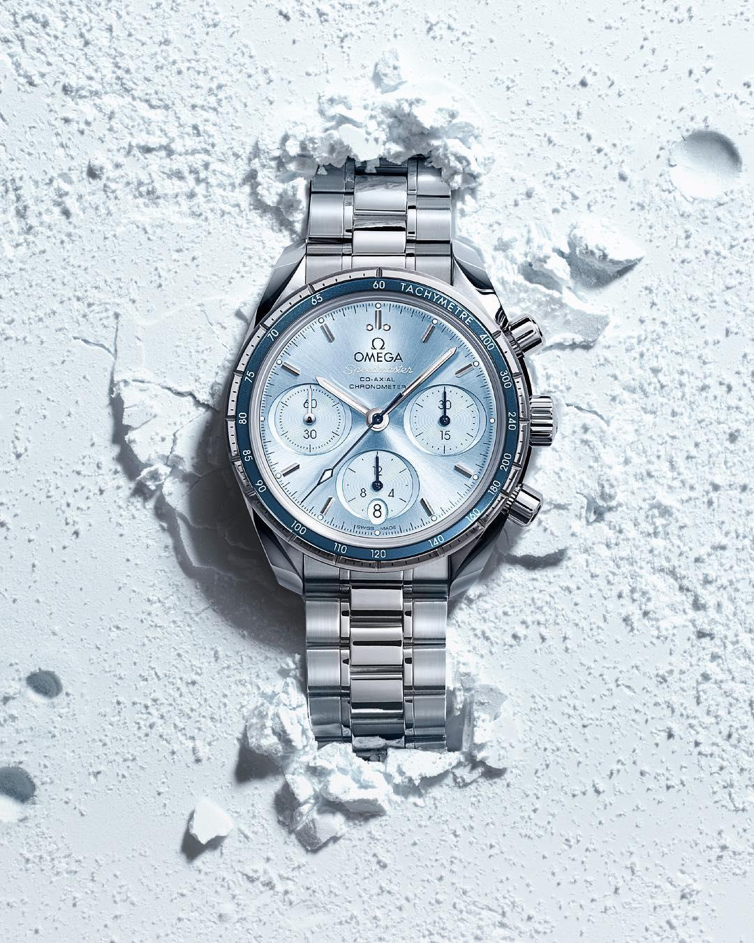 On our new Speedmaster 38 mm collection, the enduring design ...